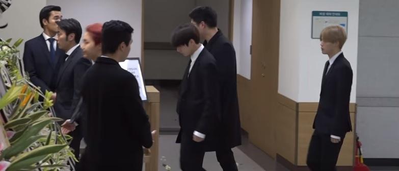 BTS, VIXX, Red Velvet & More At The Funeral of Jonghyun
