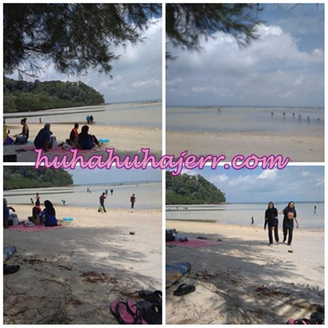 Pantai Tanjung Biru, Port Dickson.... Cantiknya!
