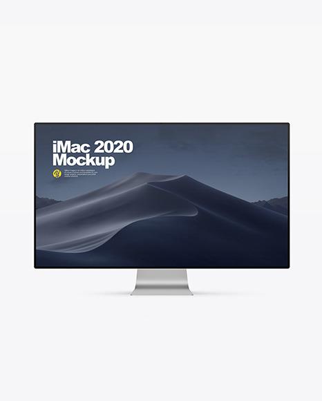 Imac 2020 Mockup