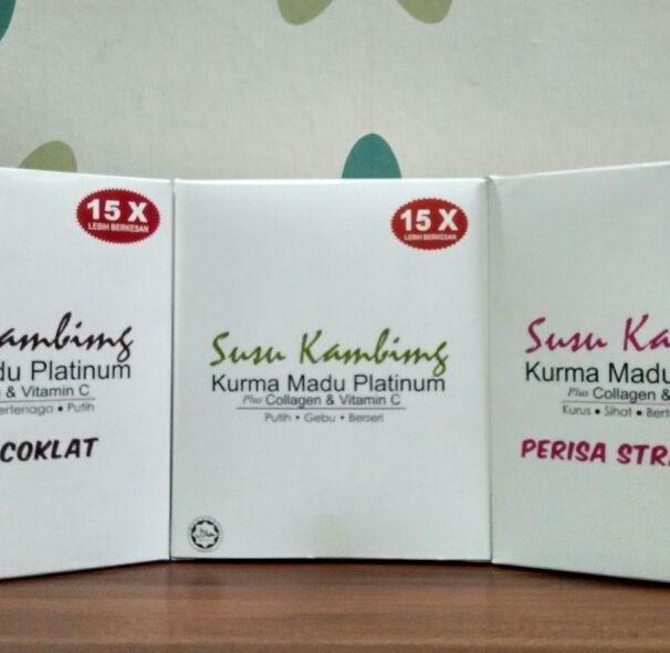 Susu Kambing Kurma Madu Platinum Plus Kolagen dan Vitamin C