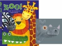 zoo, carte de numarat cu pagini pliante