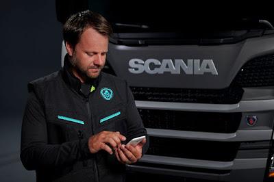 Scania lança colete conectado