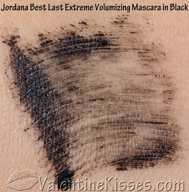 a3b18b9a322 Valentine Kisses: Jordana Best Lash Extreme Volumizing Mascara in Black -  before & after, pics, swatches, review