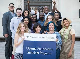 Obama Foundation Scholars Masters Program at Columbia University 2019/2020