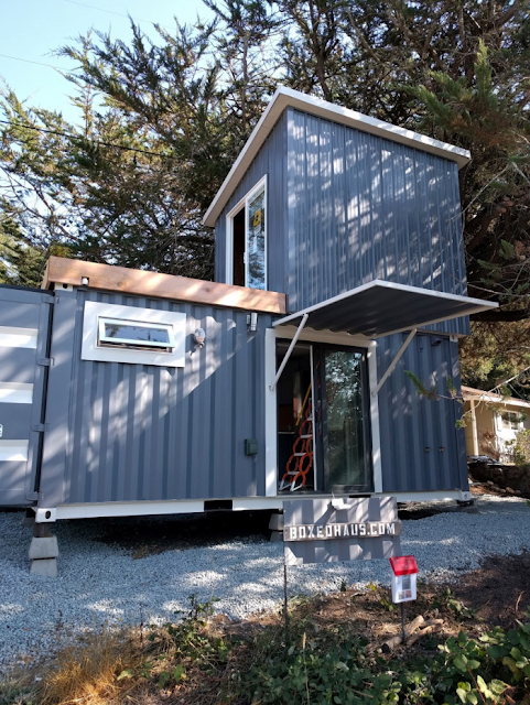 Mytinyhousedirectory Two Story Shipping Container Tiny