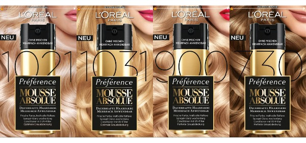 L´Oréal Hair Mousse Absolue - hellere Töne
