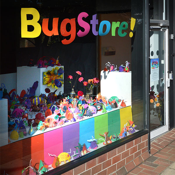 bugstore, pop up bugs,