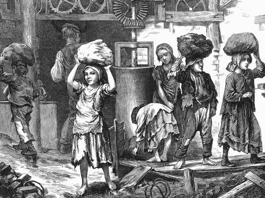 How did the Industrial Revolution change society?