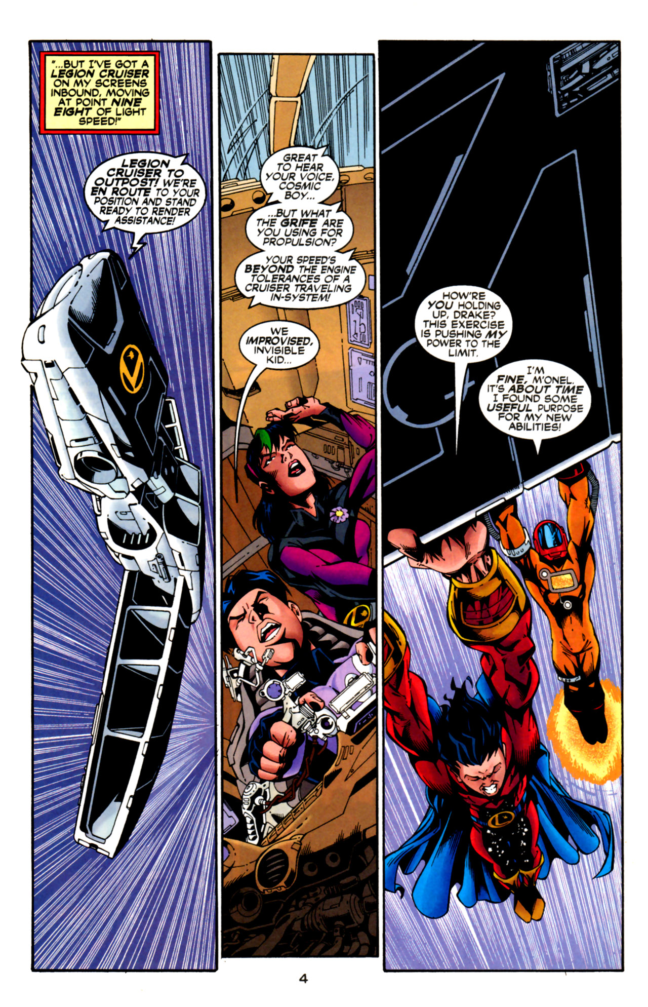 Legion of Super-Heroes (1989) 125 Page 4
