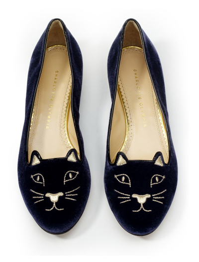 Kitty Cat Flat Shoes