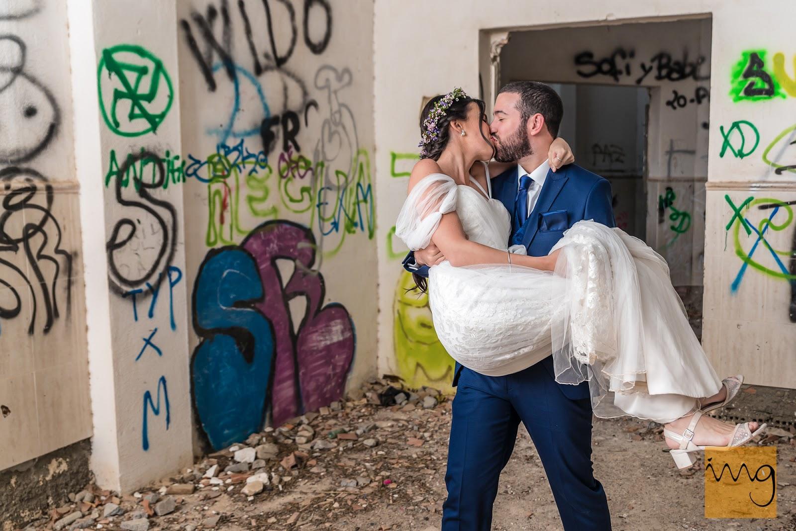 Reportaje de boda divertido en Granada