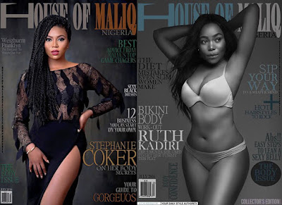 Ruth Kadiri and Stephanie Coker cover July edition of House of Maliq