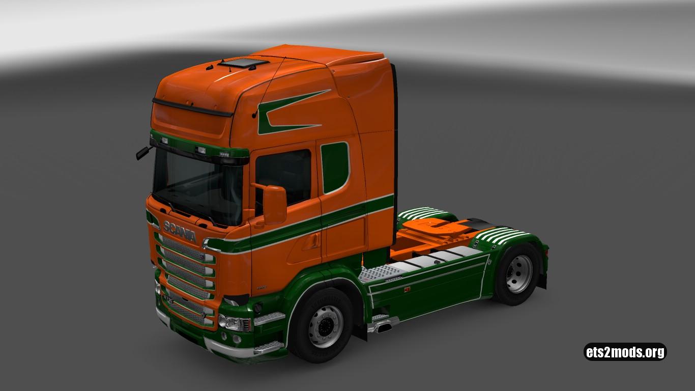 Scania RJL Volt Skin