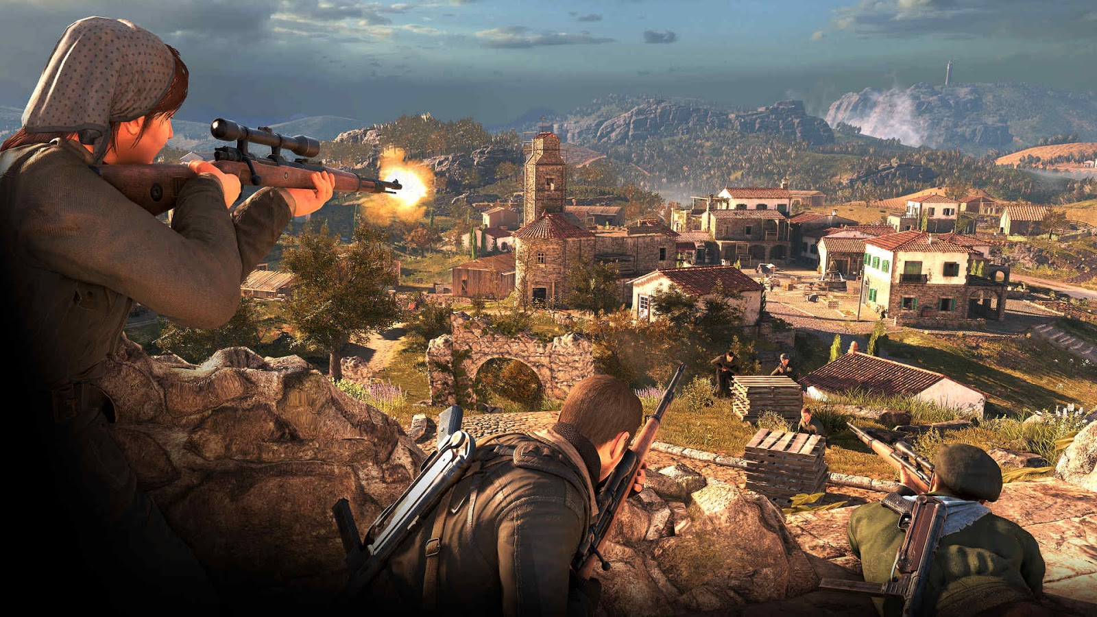Sniper Elite 4 Highly Compressed Download Free Pc Game