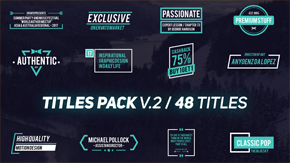 Titles Pack - 10