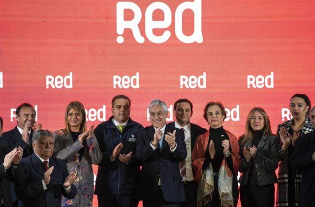 Presidente Piñera lanza el sistema de transportes Red para regiones