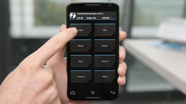 KepoinIT Nexus 6 TWRP