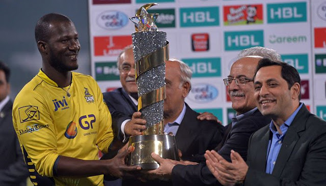 Pakistan Super League Trophy