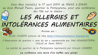 Invitation conférence sans gluten Montpellier 17 avril 2014