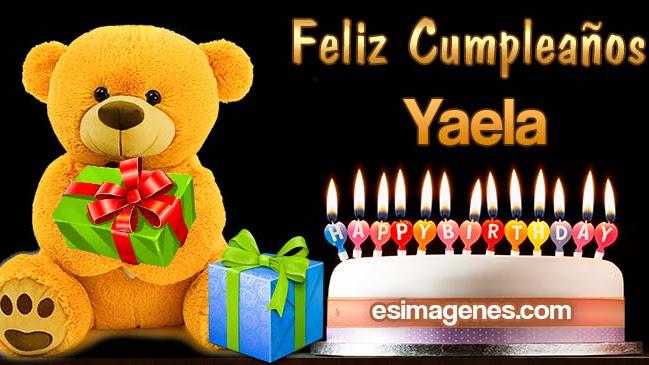 Feliz cumpleaños Yaela