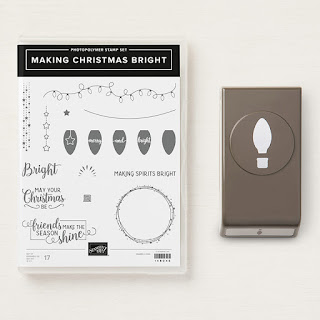 Make  stunning Christmas cards with this great stamp and punch bundle called Making Christmas Bright. See it here - http://bit.ly/MakingChristmasBrightBundle