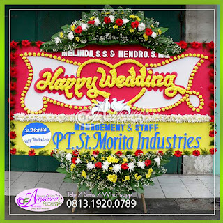 Toko Bunga Papan Wedding Jakarta Pusat