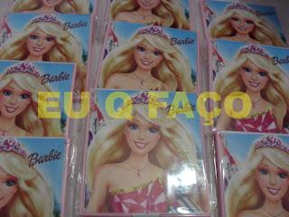 barbie escola de princesas, brindes da barbie, espelho, lembrancinhas, brindes, festa, infantil