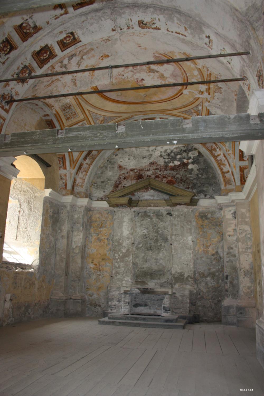 chapelle du Fort Victor-Emmanuel en Savoie
