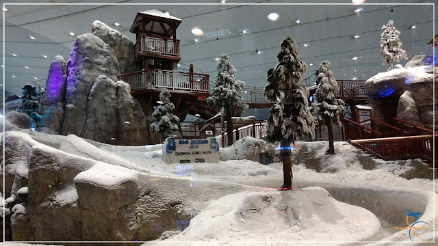 Ski Dubai no Mall of the Emirates