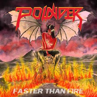 """Το τραγούδι των Pounder """"Faster Than Fire"""" από το ομότιτλο ep"""
