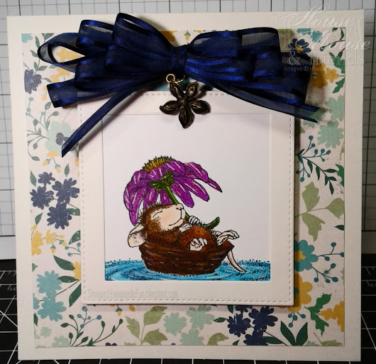 "HOUSE MOUSE AND FRIENDS MONDAY CHALLENGE #225 ~ ""MAKE A SPLASH"""