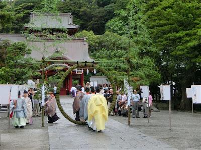 鶴岡八幡宮:夏越祭