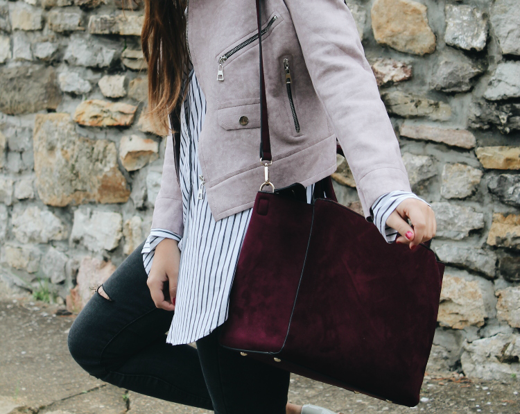 bolso burdeos blog de moda littleblackcoconut