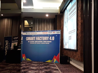 Kami hadir dalam Seminar Smart Factory 13 Des 2018