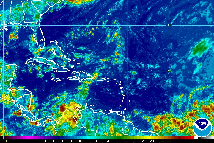 TS Don churns west, will dissipate in Caribbean