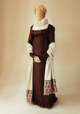 мода нач 19 в ампир