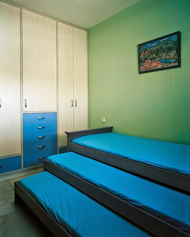 16 Children & Their Bedrooms From Around the World - Tzvika, 9, Beitar Illit, The West Bank