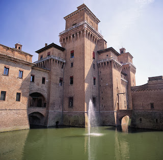 The Castello in Ferrara