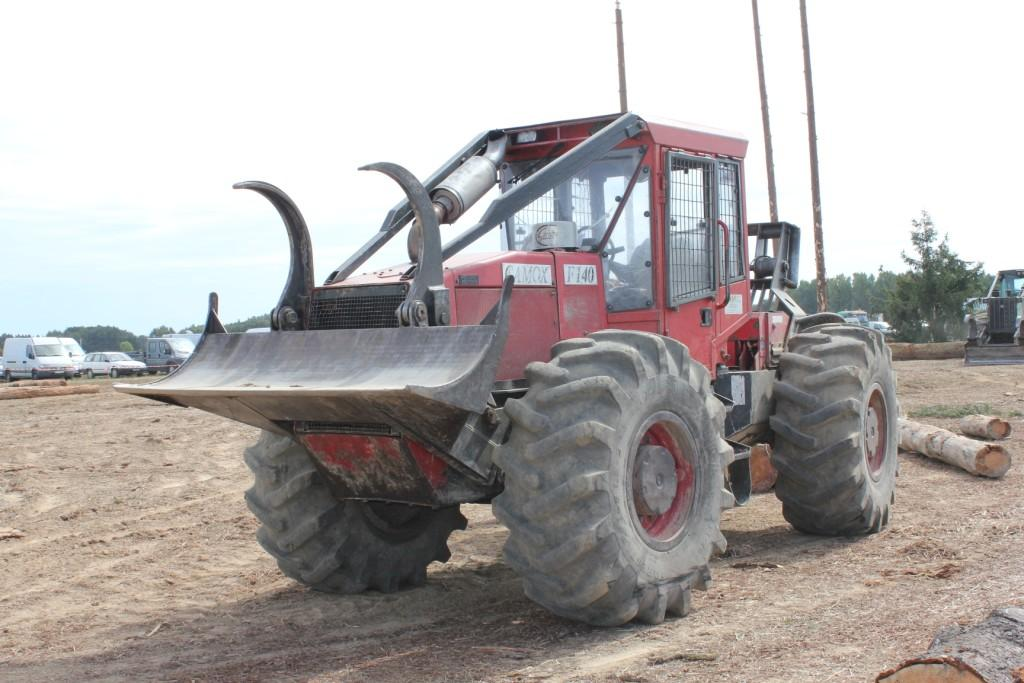 tracteur forestier camox occasion