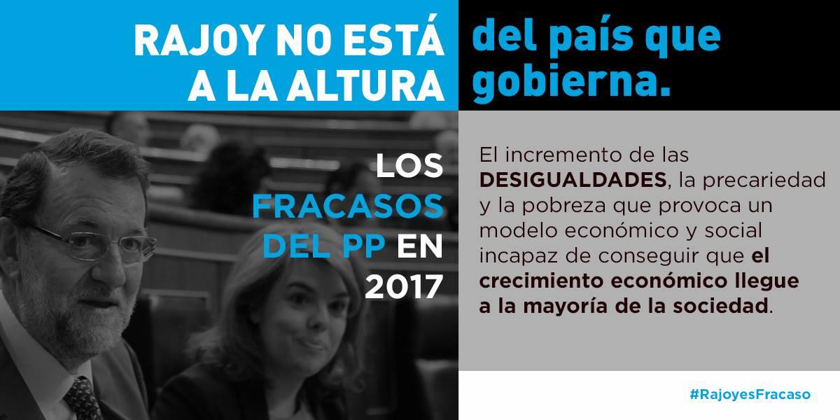 #RajoyEsFracaso