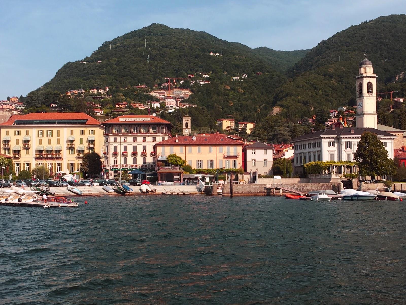 Lake Como Boat Trip