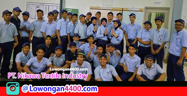 Lowongan Kerja Operator Produksi PT. Nikawa Textile Industry Karawang