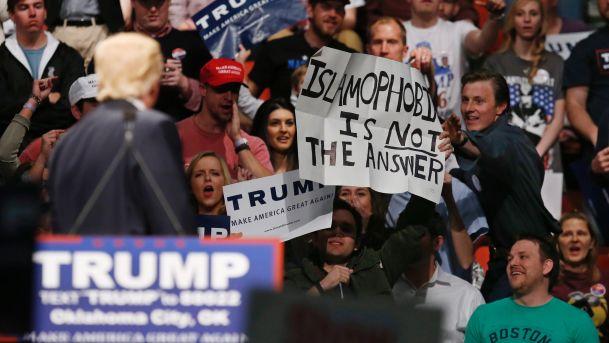 Donald Trump Pimpin Perolehan Suara, Begini Komentar Mengejutkan Dari Imam Islamic Centre