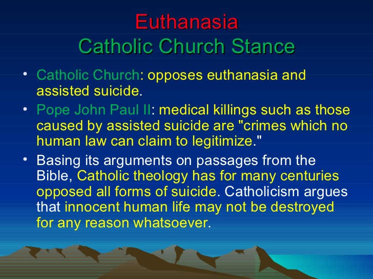 Euthanasia different perspectives on sexual orientation