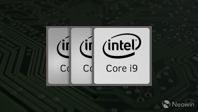 Imagem Intel Core i9