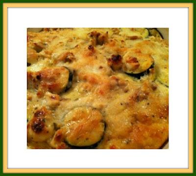 Easy Chicken Zucchini Casserole