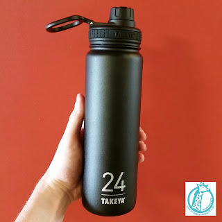 black Takeya Thermoflask bottle