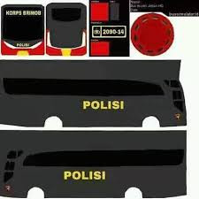 Download Livery Bus Polisi