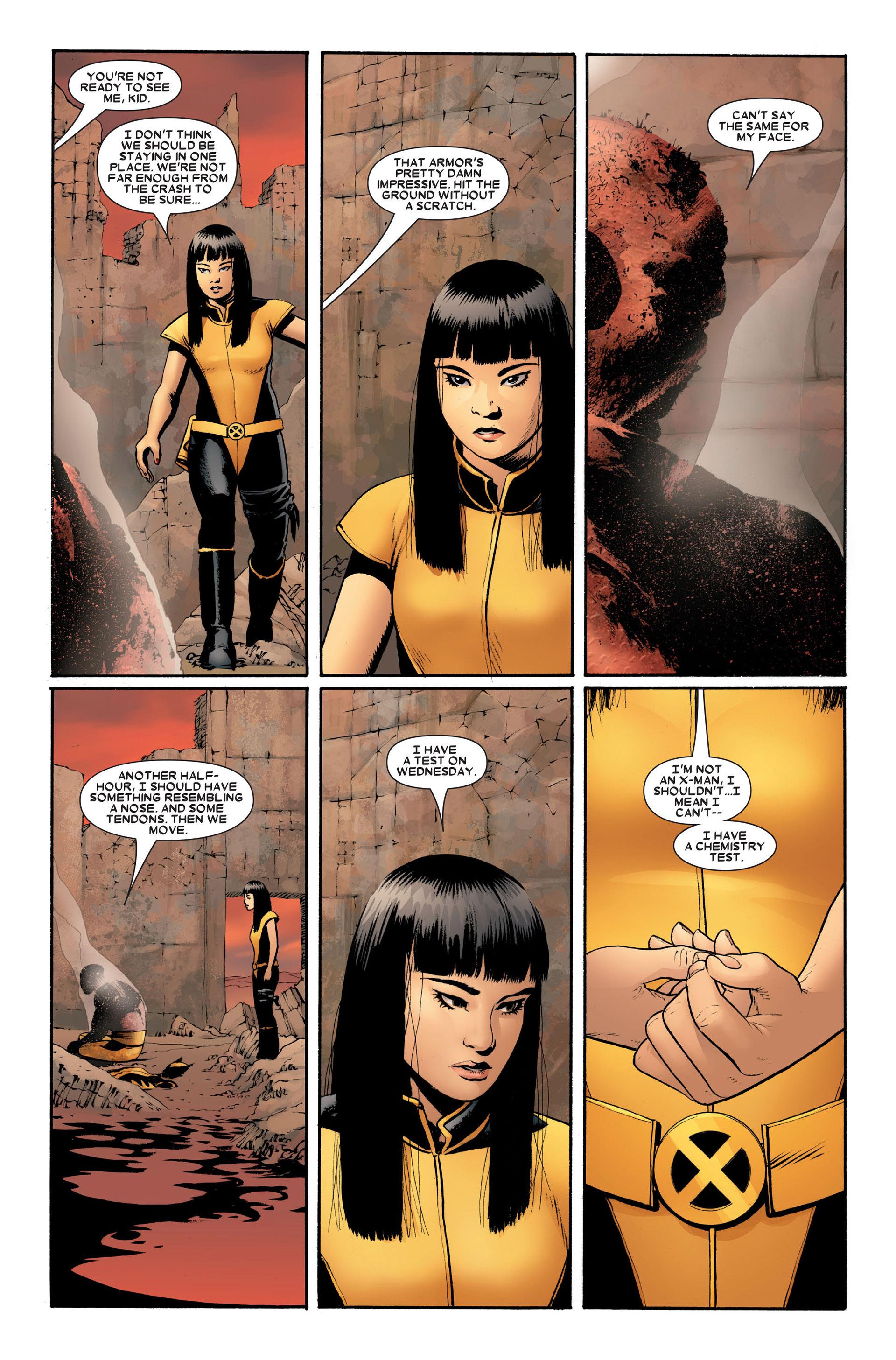Read online Astonishing X-Men (2004) comic -  Issue #20 - 21