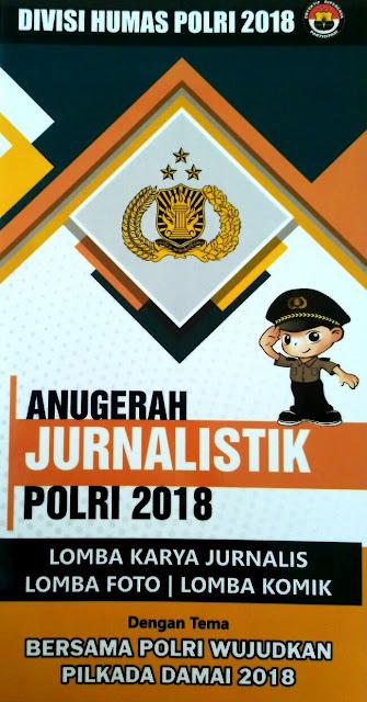 Pemenang Lomba Jurnalistik Akan Dampingi Kapolri ke Luar Negeri
